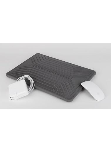 "Wiwu Wiwu Bumper Sleeve Case MacBook Pro Air Retina Laptop Çanta Koruma Kese Kılıf 13.3"" Darbe Emici Gri"